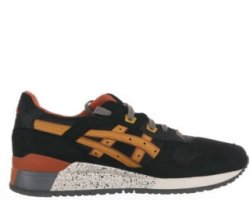 "Кроссовки Asics Gel Lyte III ""Black/Brown"""
