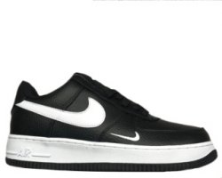 "Кроссовки Nike Air Force 1 Low AF1 ""Black"""