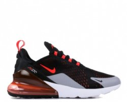 "Кроссовки Nike Air Max 270 ""Black/Hyper Crimson/Wolf Grey/Bright Crimsone"""