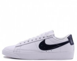 "Кроссовки Nike Blazer Low Leather ""White/Black"""