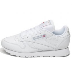 "Кроссовки Reebok Classic Leather ""All White"""