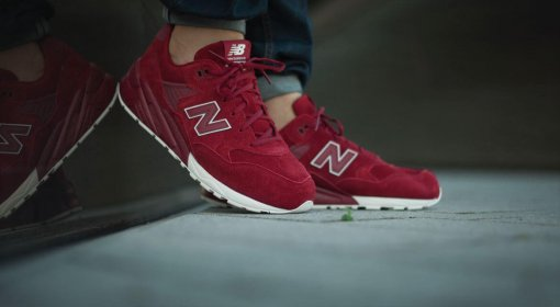 "Кроссовки New Balance MRT 580 BR Tonal Pack ""Red"" 3"