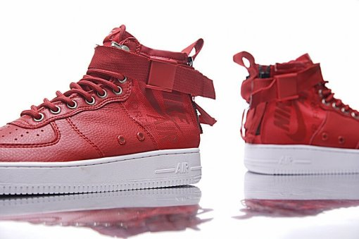 "Кроссовки Nike SF Air Force 1 Utility Mid ""Red/White"" 7"