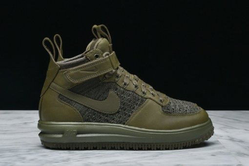 "Кроссовки Nike Lunar Force 1 Flyknit Workboot Medium ""Olive"" 3"
