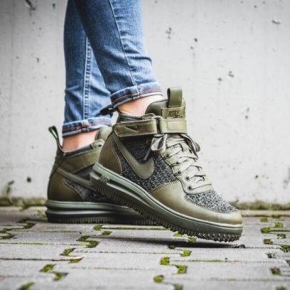 "Кроссовки Nike Lunar Force 1 Flyknit Workboot Medium ""Olive"" 7"