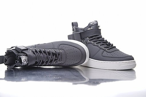 "Кроссовки Nike SF Air Force 1 Utility Mid ""Grey/White"" 1"