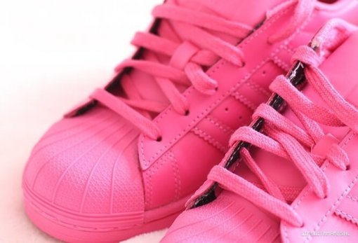 "Кроссовки Adidas Pharrell Williams Superstar Supercolor ""Rose"" 5"