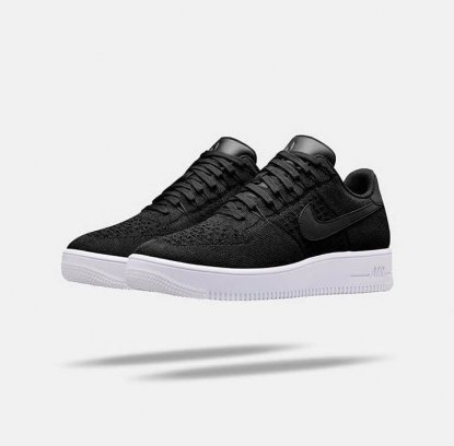 "Кроссовки Nike Air Force 1 Ultra Flyknit Low ""Black"" 1"