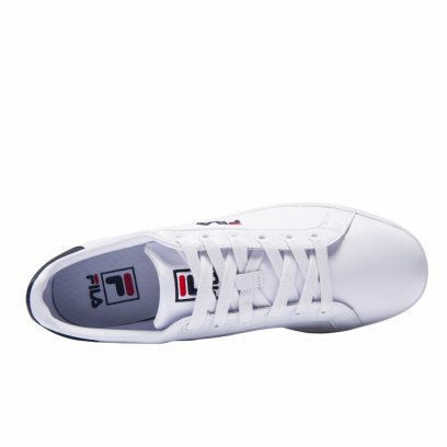 "Кеды Fila Tennis Court Deluxe ""White/Black"" 4"