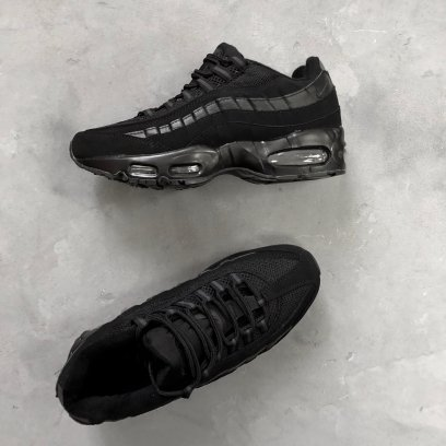 "Кроссовки Nike Air Max 95 ""Triple Black"" 5"