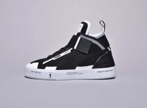 "Кроссовки Puma x UEG Court Play ""Black /White"" 2"